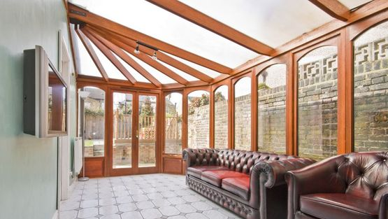 A conservatory supplied and installed by us